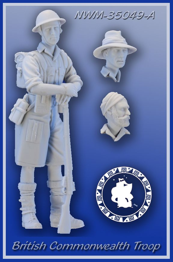 New from NEW WORLD MINIATURES 35051A
