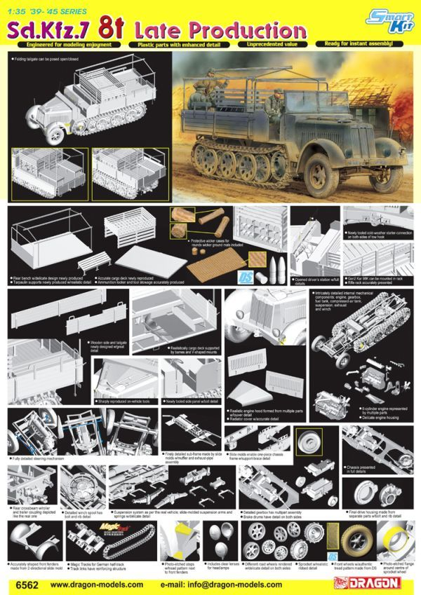 New Sd.Kfz 7 Late from Dragon 6562poster