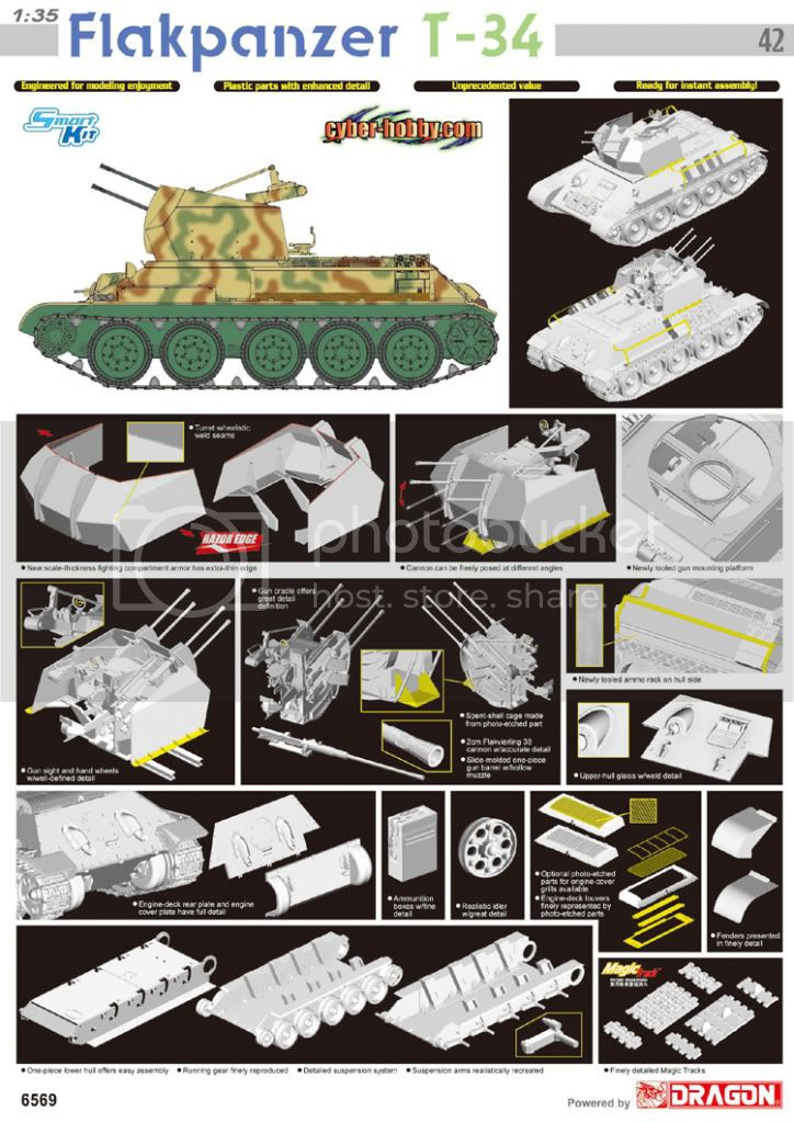 Upcoming from Cyber-Hobby: Flakpanzer T-34 6569poster-1