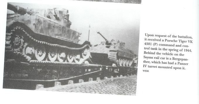 Pz IV J Initial/Early photos Bergepanther