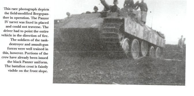 Pz IV J Initial/Early photos Bergepanther2