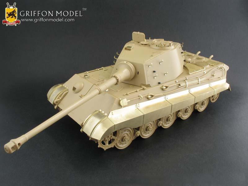 GRIFFON MODELS WWII German King Tiger (Porsche & Henchel Turret) update set. Boxart2