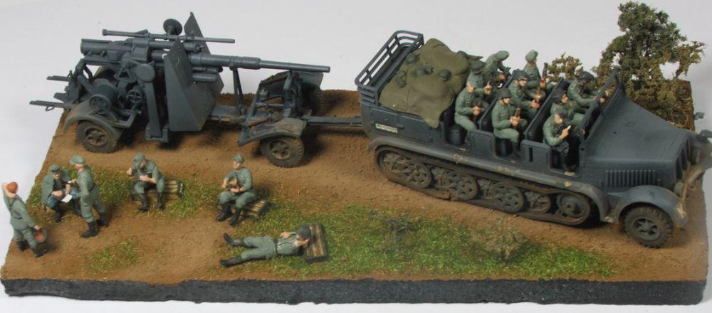 Mels build . A big gun and big half track 88mmgunandhalftrack1