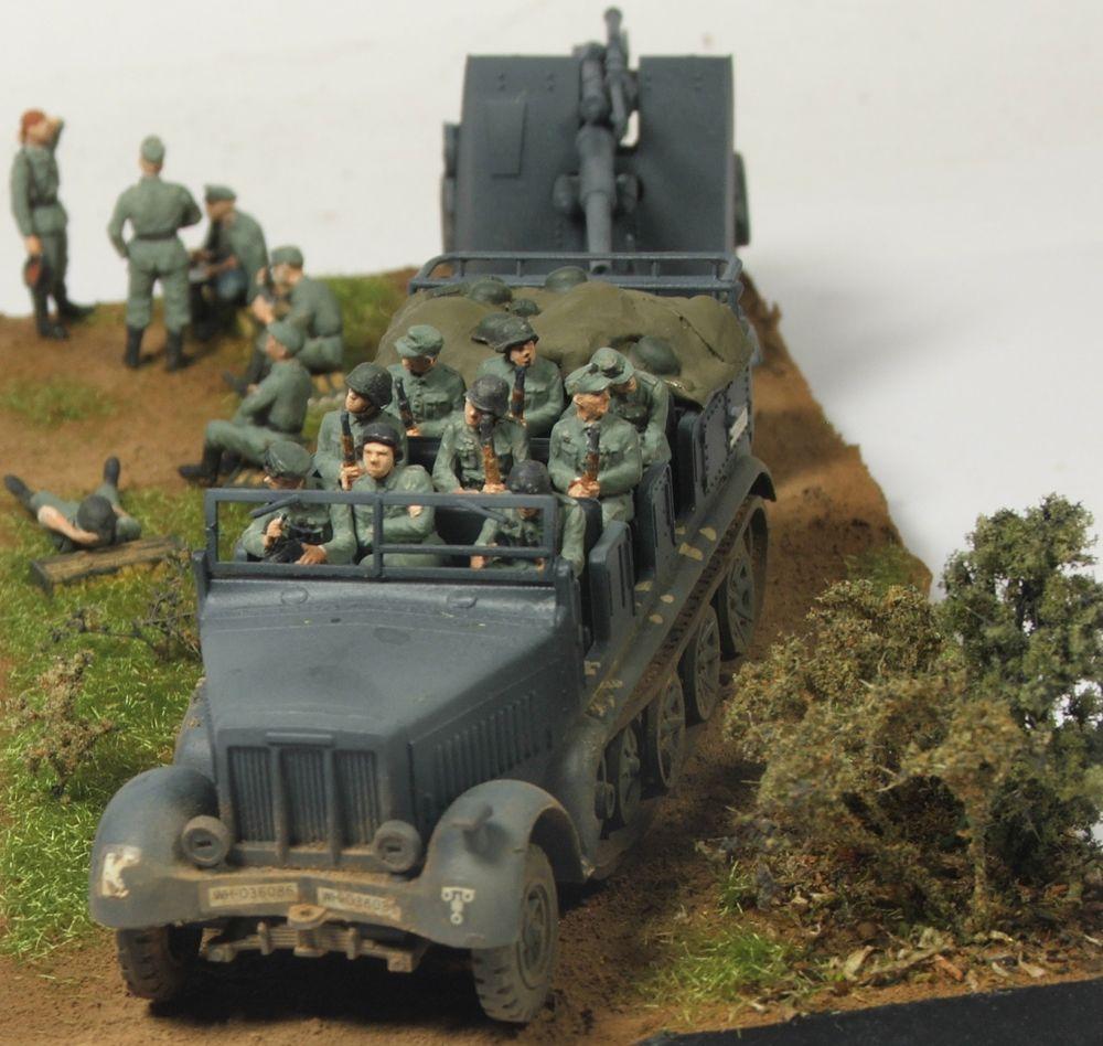 Mels build . A big gun and big half track 88mmgunandhalftrack11