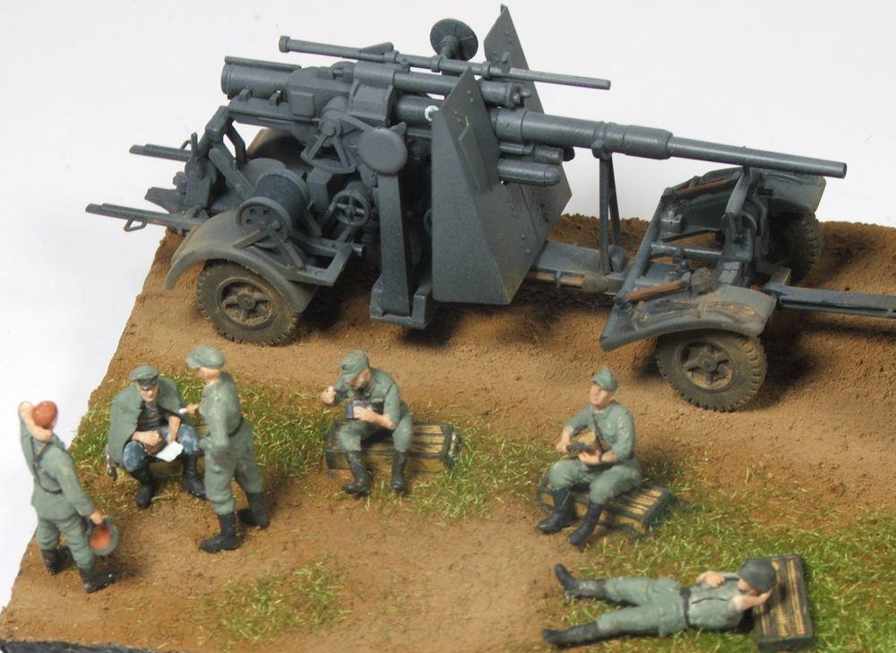 Mels build . A big gun and big half track 88mmgunandhalftrack3