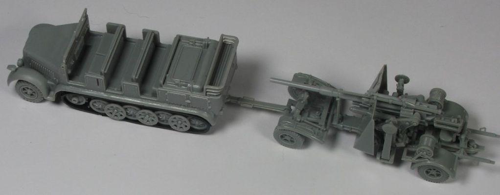 Mels build . A big gun and big half track MelsHalftrack88mmgun1