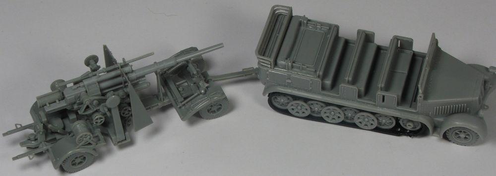 Mels build . A big gun and big half track MelsHalftrack88mmgun2