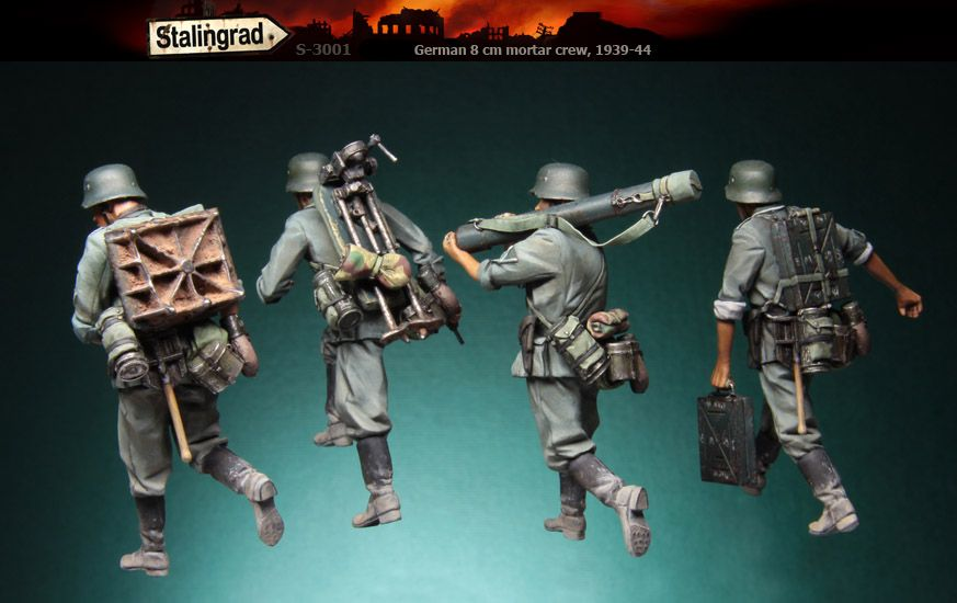 New from Stalingrad miniatures 3001-2