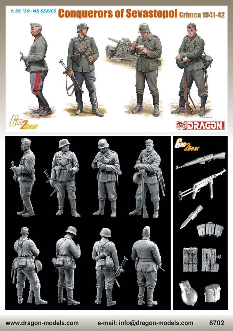 New figure set from Dragon 6702poster