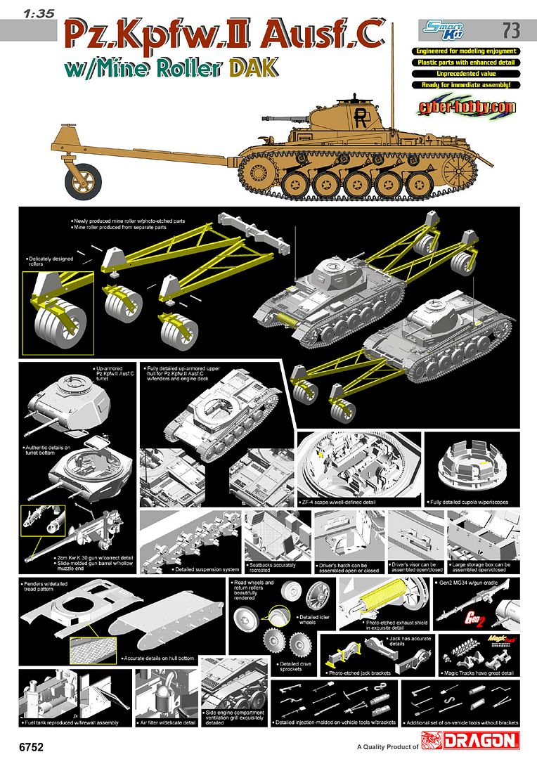 New from Cyber Hobbies 6752poster