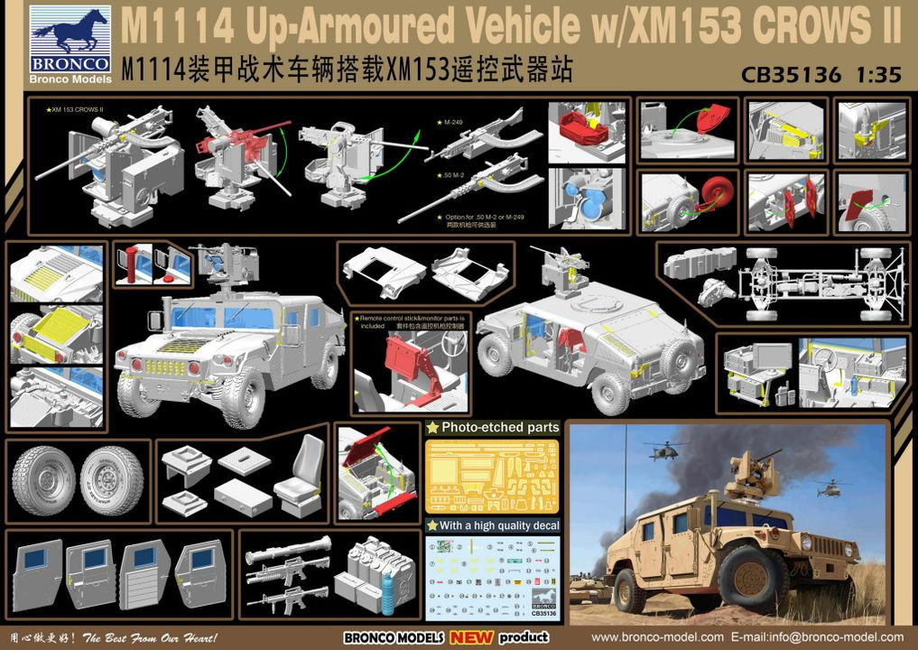New from Bronco models CB35136