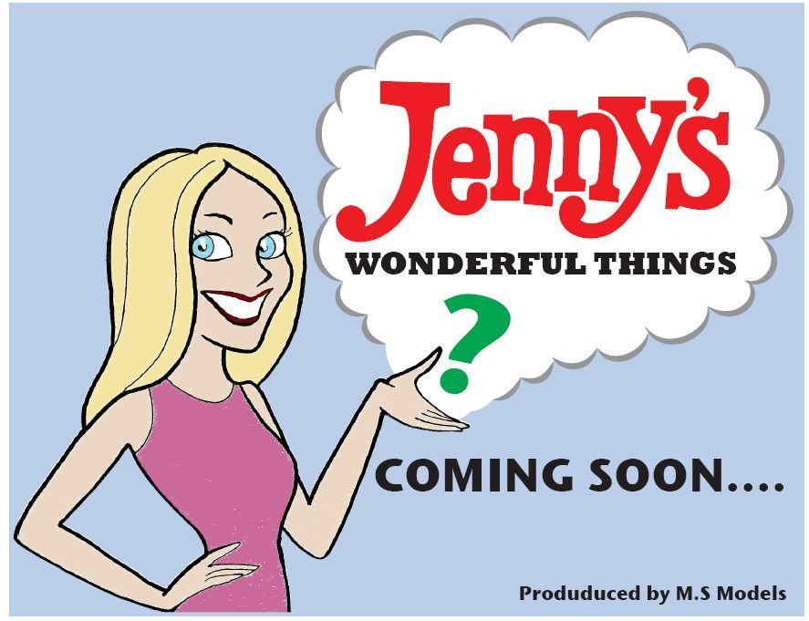 INTRODUCING Jenny's Wonderful Things Comingsoon