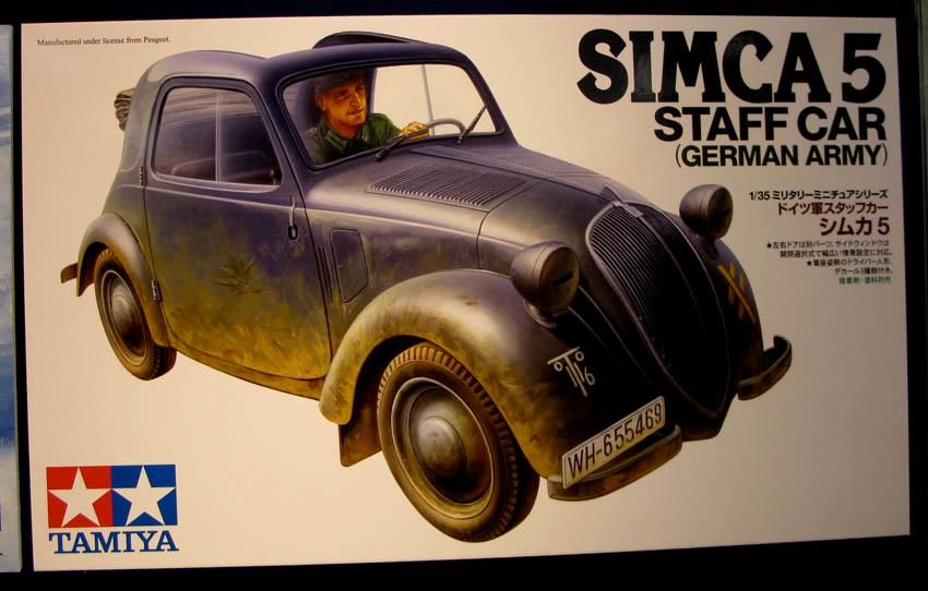 New from Tamiya Simca1