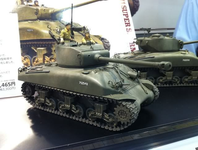 First Look at Tamiyas new Super Sherman Supersherman