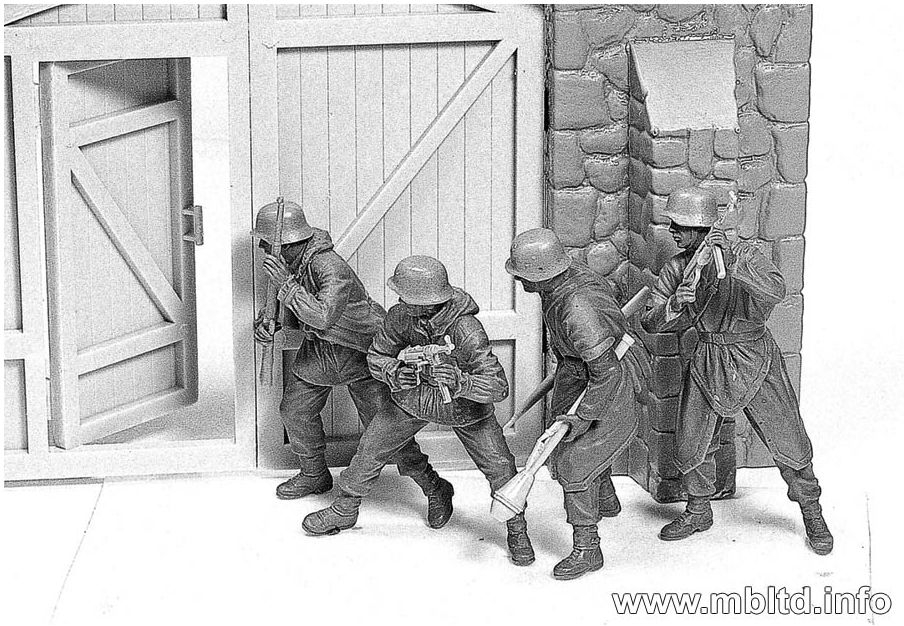 News and upcoming releases from Masterbox WestEuropeGermanInfantry1944-45