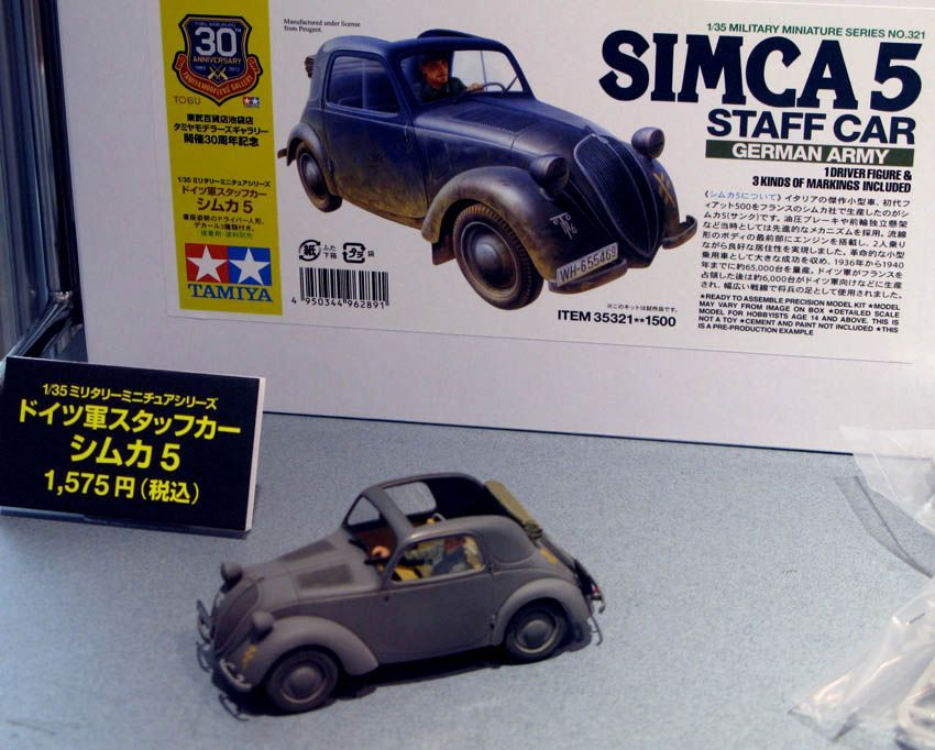 New from Tamiya Simca2