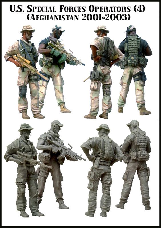New from Evolution Miniatures Specops4