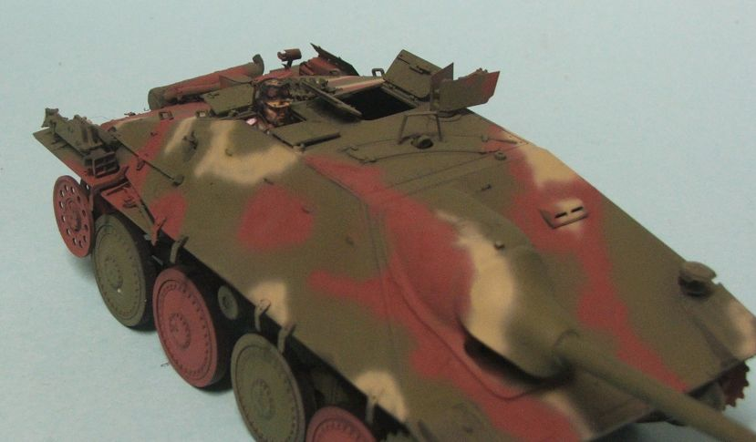 Richies Build : Tamiya 1/35 Hetzer FINISHED 3rd October - Page 2 Hetzerpainted4