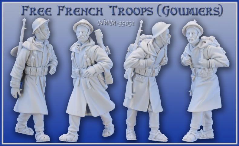 New from NEW WORLD MINIATURES Groumiers