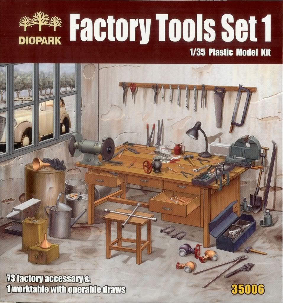 DIOPARK Factory Tools Set 1 Factory1