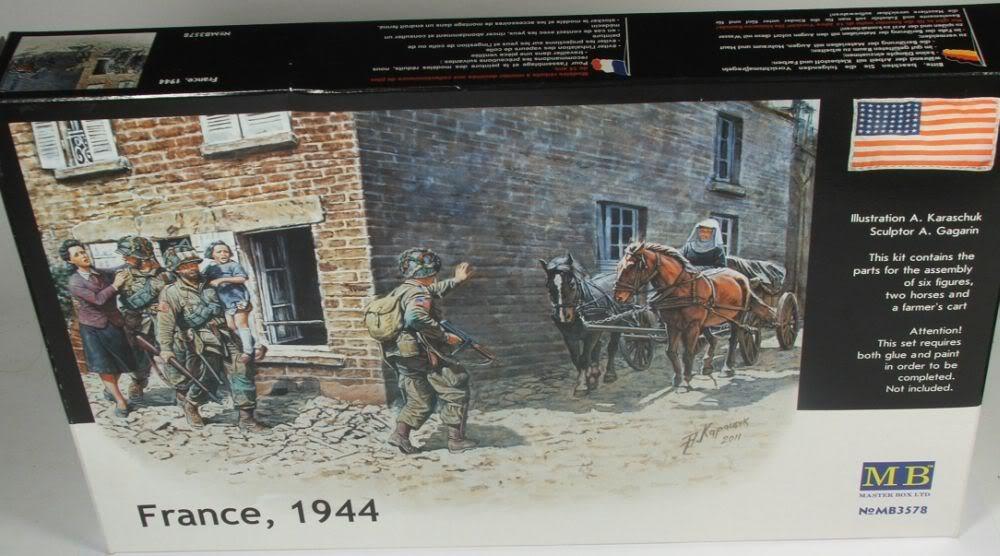 Masterbox France 1944 France19441