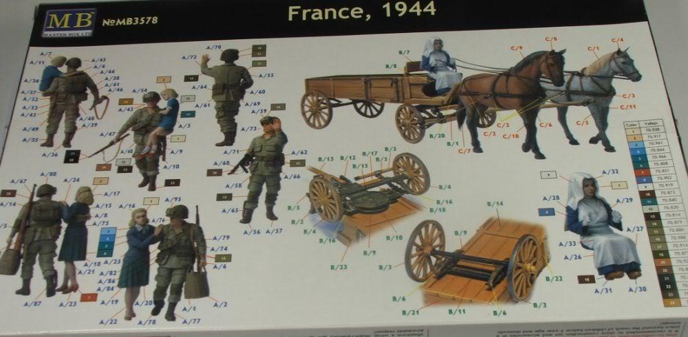 Masterbox France 1944 France19442