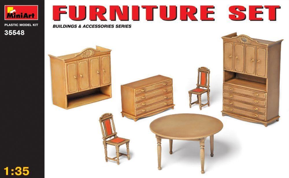 Uschi Van Der Rostens Woodgrain decals  Furnitureset