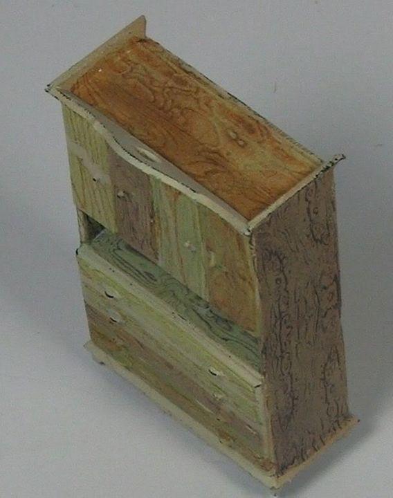 Uschi Van Der Rostens Woodgrain decals  MiniArtfurniture6