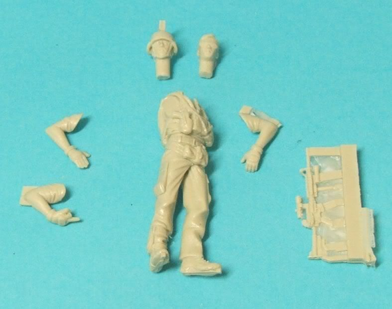 "New World Miniatures Private Military Contractor ""Pablo"" NewworldminiaturesPablo002"
