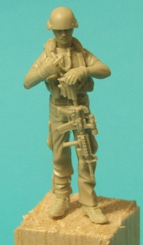 "New World Miniatures Private Military Contractor ""Pablo"" NewworldminiaturesPablo010"