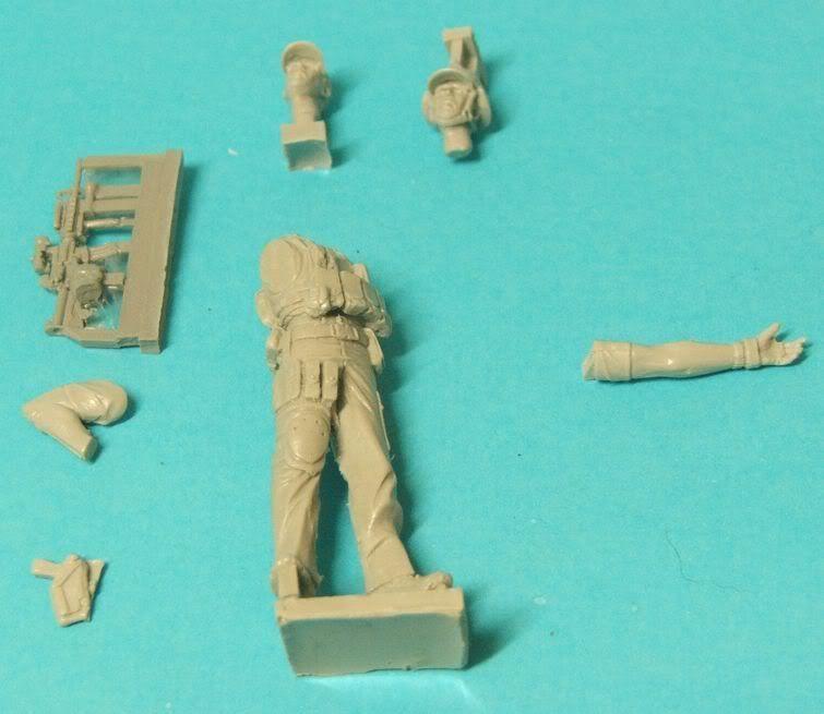 "New World Miniatures Private Military Contractor ""Rambo"" NewworldminiaturesRambo001"