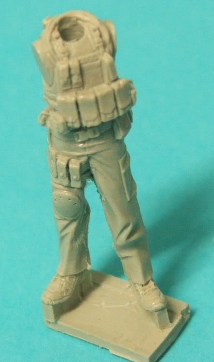 "New World Miniatures Private Military Contractor ""Rambo"" NewworldminiaturesRambo003"