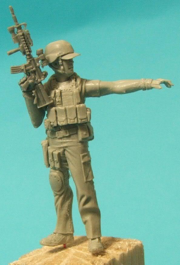 "New World Miniatures Private Military Contractor ""Rambo"" NewworldminiaturesRambo007"