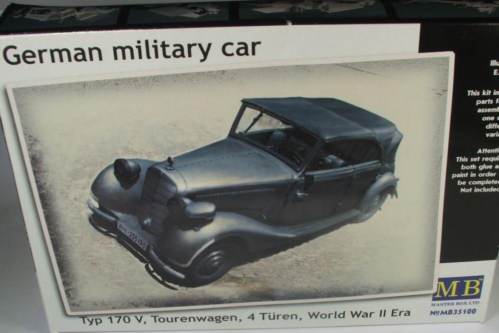 Masterbox German Military Car Typ 170V Tourenwagen  Tourenwagen1