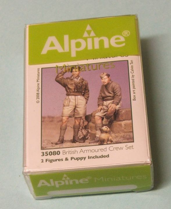 Alpine Miniatures British Armoured Crew Set Figurereviews005