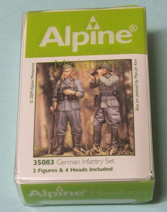 Alpine Miniatures German Infantry Set Figurereviews008