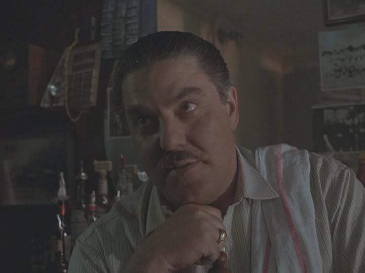 Bruce McGill  Quinn-bartender