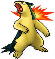 Pokemon of the week #2- Typhlosion Typhlosion