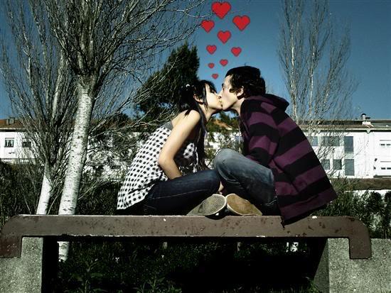 Poljubac je susret... 2el