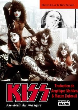 """Le livre """"KISS : Au delà du Masque""""  KISScamionblanc"""