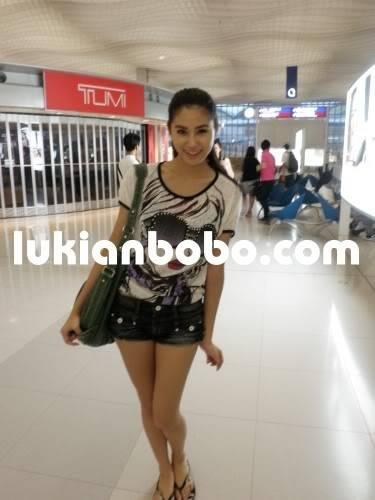 Sep 21, 2009 ~《美女廚房》泰國外景送機 Lukian21-9-091