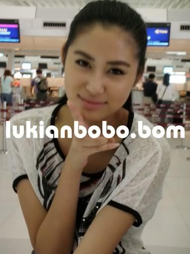 Sep 21, 2009 ~《美女廚房》泰國外景送機 Lukian21-9-092