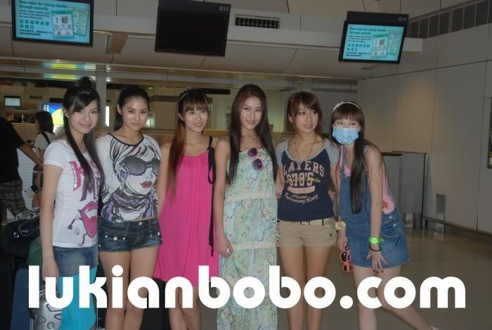 Sep 21, 2009 ~《美女廚房》泰國外景送機 Lukian21-9-093