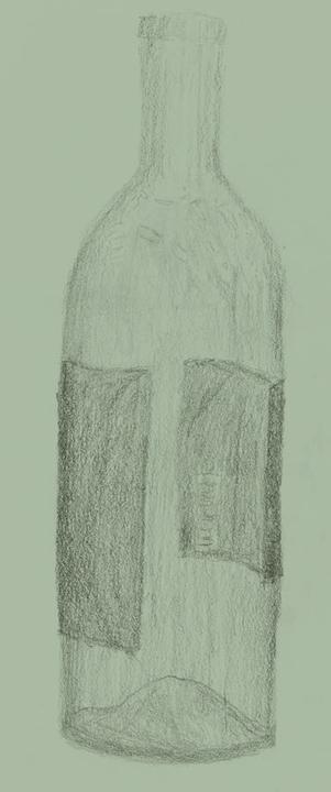 Drawing Class Spam~ Zinfandelbottle
