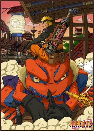 Invocacion de sapos NarutoGamakichism