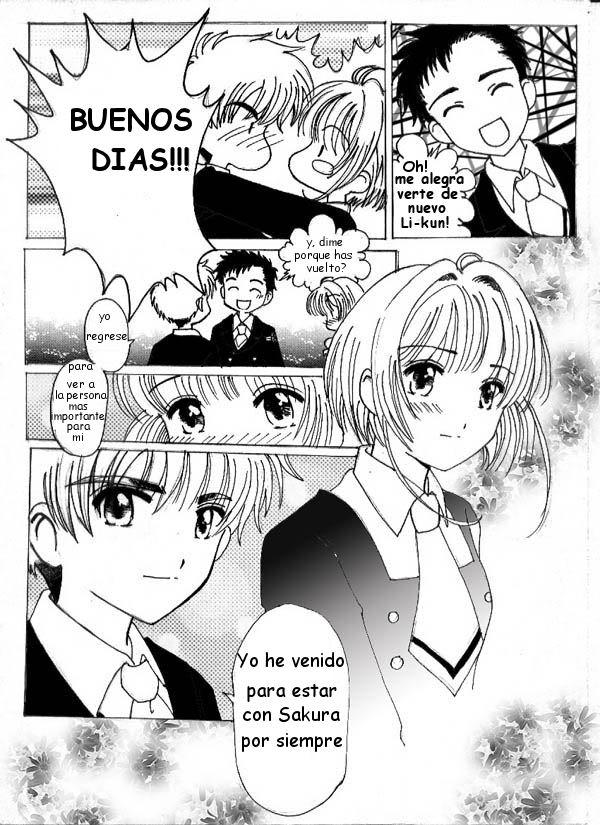 El primer beso de Sakura y Shaoran [CCS] 2