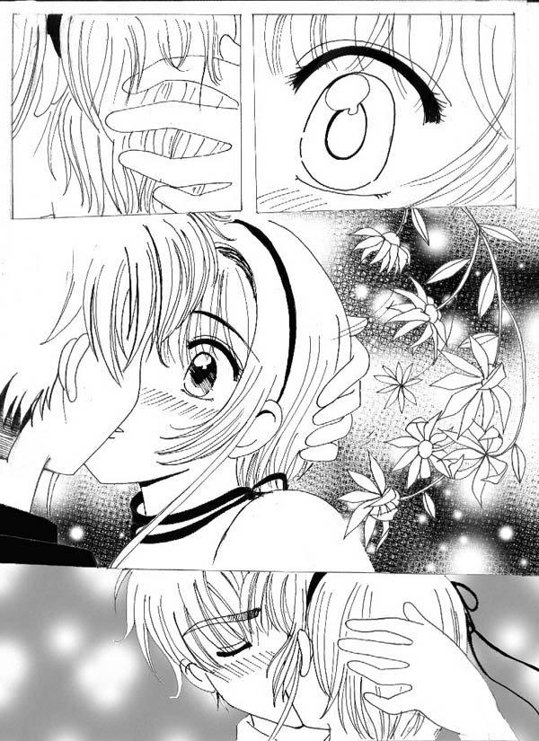 El primer beso de Sakura y Shaoran [CCS] 21