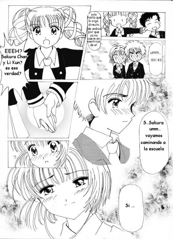 El primer beso de Sakura y Shaoran [CCS] 3