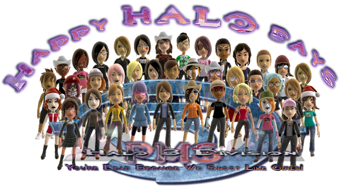 Happy HALO-Days from the PMS Clan Halo 3 Division! PMSHaloDays
