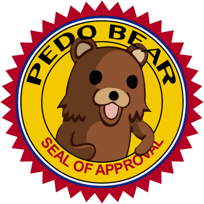 What you've all been waiting for. - Page 2 Pedo-bear-seal-of-approval